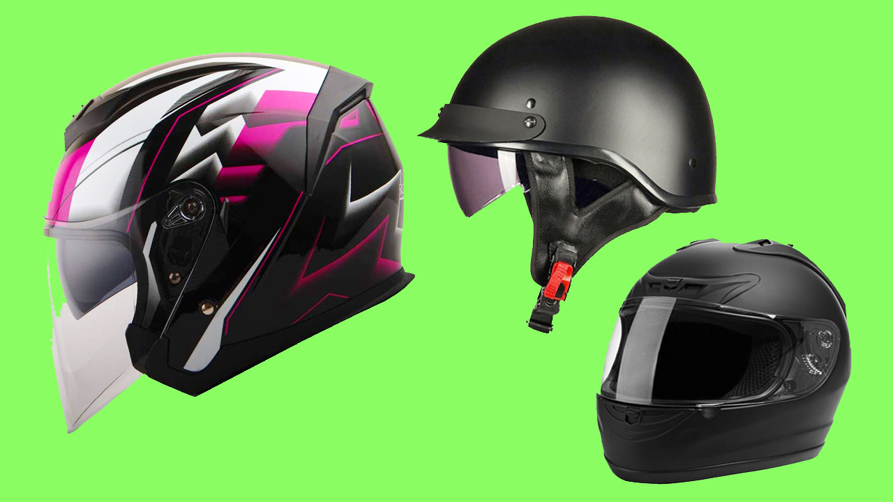 Cheap Motorcycle Helmets Under 50