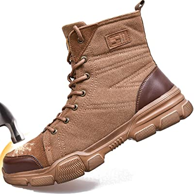 SUADEX Steel Toe Work Boots