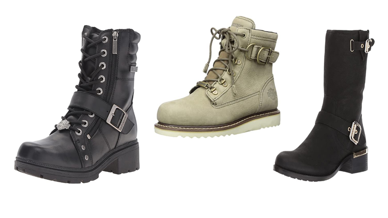 Best Women's Motorcycle Boots For Short Riders