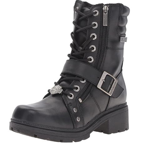 Harley Davidson Women's Motorcycle Boots For Short Riders