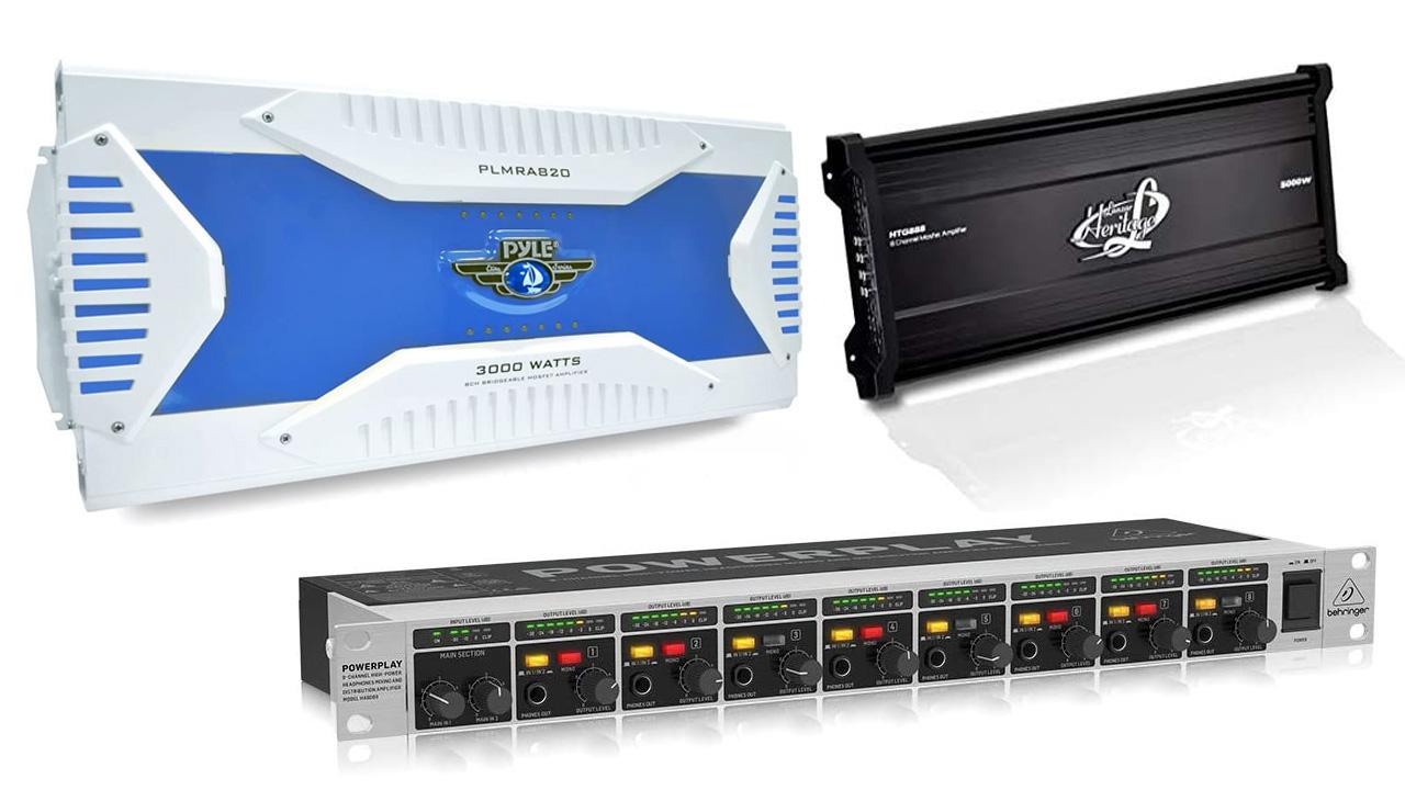 Best 8 Channel Car Amplifier