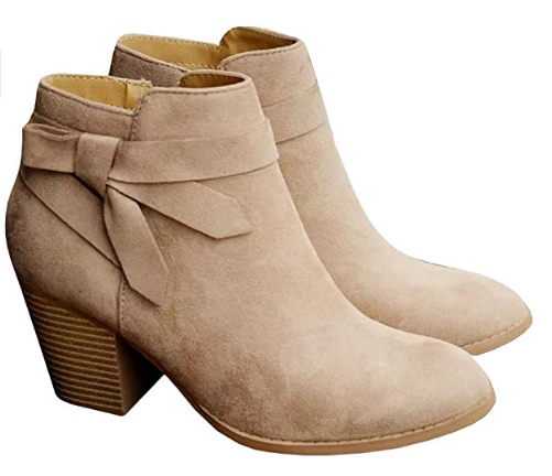 PiePieBuy Women's Chelsea Ankle Boots For Dresses