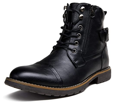 Vostey Business Casual Boots For Motorcycle