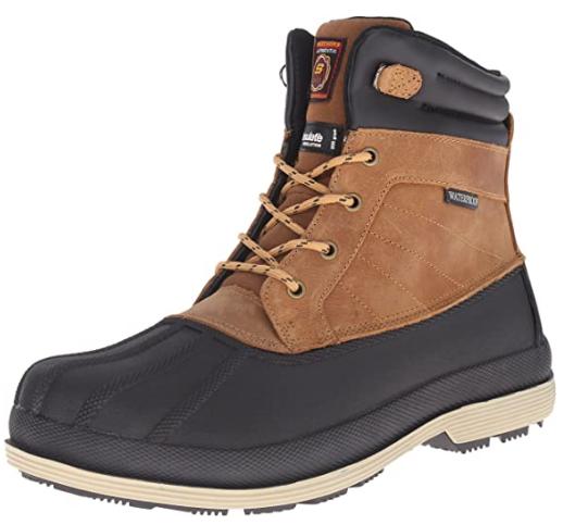 SkechersMen's Waterproof Slip Resistant Boot